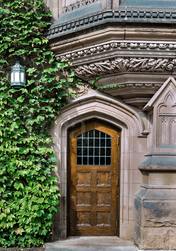 Ivy League architecture, Princeton University, New Jersey, USA.