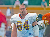 Washington Redskins offensive tackle Andy Heck (64) at the team's training camp at Redskins Park in Ashburn, Virginia on August 10, 2000.<br /> Credit: Arnie Sachs / CNP