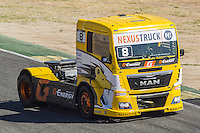 French driver Anthony Janiec belonging Portugese team Lion Truck Racing during the third race R3 of the XXX Spain GP Camion of the FIA European Truck Racing Championship 2016 in Madrid. October 02, 2016. (ALTERPHOTOS/Rodrigo Jimenez) /NORTEPHOTO.COM / © NORTEPHOTO.C OM
