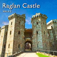 Raglan Castle Wales Images, Pictures & Photos