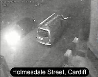 "Pictured: CCTV image released by South Wales Police showing dark Audi A3 is observed travelling Holmesdale Street<br /> Re: Earlier this week Christopher Griffiths and Awez Jamshaid were convicted of murdering Malaciah Thomas and Saif Shahzad was found guilty of manslaughter.<br /> A fourth man, Daniel Roberts, admitted murder partway through the trial.<br /> Today, all four were sentenced at Cardiff Crown Court:<br /> Daniel Roberts, Christopher Griffiths, and Awez Jamshaid, were all sentenced to life imprisonment.<br /> Roberts, 20, and Griffiths, 30, must serve a minimum of 25 years, while 19-year-old Jamshaid will serve at least 11 years.<br /> Shahzad, 19, was sentenced to 7 years 6 months in a Young Offenders Institution.<br /> Just before 2am on Monday, July 23 2018, officers were called to reports of a serious assault in the front garden of a house in Corporation Road, Grangetown.<br /> Malaciah Thomas 20, suffered multiple stab wounds and died at the scene.<br /> Speaking after the sentencing at Cardiff Crown Court, Senior Investigating Officer Detective Chief Inspector Gareth Morgan said: ""Malaciah Thomas was stabbed to death just two days before his 21st birthday and our thoughts are with his family and friends.<br />  ""This tragic case sadly highlights the devastating and far-reaching consequences of knife crime.<br />  ""Knife crime has risen across the UK and unfortunately we are not an exception to that.<br />  ""During the early hours of Monday, July 23rd 2018 four young men left an address in Roath and drove to Grangetown.<br />  ""Two of them were armed with knives - all four knew the objective was to attack Malaciah.<br />  ""Following a thorough investigation and trial at Cardiff Crown Court, they have been convicted and will spend a significant part of their lives in prison.<br />  ""The response from the community throughout our investigation was extremely positive and we thank those who have provided information, including CCTV, and showed great strength in coming forward.<br /> ""South Wales Police is committed to tackling knife crime by pr"