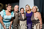 Oonagh O'Gara, James Finnegan, Ena O'Shea, Catherine Smith and Diana Curtin, pictured at Tralee Musical Society's 30th anniversary 'Salute to the Musicals' held at Siamsa Tire, Tralee on Tuesday night last.