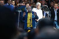 SAO PAULO, SP, 24 JUNHO 2012 - CONVENCAO MUNICIPAL - PMDB -  Ciro Moura durante Convencao do PMDB na Praca da Se neste domingo, 24. (FOTO: WILLIAM VOCOV / BRAZIL PHOTO PRESS).