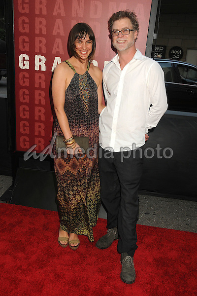 "10 June 2015 - Los Angeles, California - Rani Chaleyer, Rupert Glasson. LA Film Festival 2015 Opening Night Premiere of ""Grandma"" held at Regal Cinemas LA Live. Photo Credit: Byron Purvis/AdMedia"