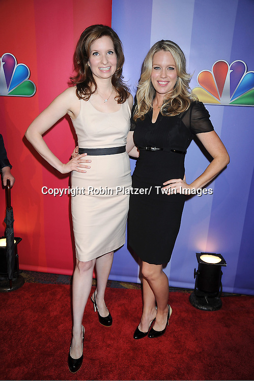 "Lennon Parham and Jessica St Clair of ""Best Friends Forever"" attending The NBC Upfront Presentation of the 2011-2012 Primetime Season on May 16, 2011 at The New York Hilton in New York City."