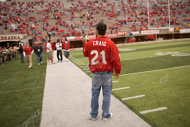 The University of Nebraska vs. The University of Southern California football game. Lincoln, Nebraska, September 15, 2007.
