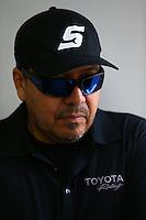 May 30, 2013; Englishtown, NJ, USA: NHRA funny car driver Cruz Pedregon at Raceway Park. Mandatory Credit: Mark J. Rebilas-