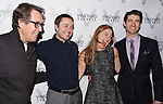 Larry Pine, Vincent Kartheiser, Sophie von Haselberg and Drew Gehling  attends the Off-Broadway opening Night Performance After Party for 'Billy & Ray' at the Vineyard Theatre on October 20, 2014 in New York City.