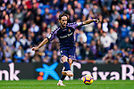 Miguel Alfonso Herrero Javaloyas, Michel, of Real Valladolid in action during the La Liga 2018-19 match between Real Madrid and Real Valladolid at Estadio Santiago Bernabeu on November 03 2018 in Madrid, Spain. Photo by Diego Souto / Power Sport Images