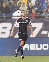 In a Major League Soccer (MLS) match, the New England Revolution defeated Chicago Fire, 2-0, at Gillette Stadium on June 2, 2012.