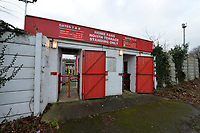 North Terrance turnstile during Stevenage vs Reading, Emirates FA Cup Football at the Lamex Stadium on 6th January 2018