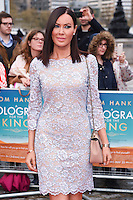 "Linzi Stoppard<br /> arrives for the premiere of ""A Hologram for the King"" at the Bfi, South Bank, London<br /> <br /> <br /> ©Ash Knotek  D3110 25/04/2016"