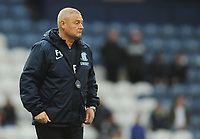 Preston North End First Team Coach Frankie McAvoy during the pre-match warm-up <br /> <br /> Photographer Kevin Barnes/CameraSport<br /> <br /> The EFL Sky Bet Championship - Preston North End v Leeds United -Tuesday 9th April 2019 - Deepdale Stadium - Preston<br /> <br /> World Copyright &copy; 2019 CameraSport. All rights reserved. 43 Linden Ave. Countesthorpe. Leicester. England. LE8 5PG - Tel: +44 (0) 116 277 4147 - admin@camerasport.com - www.camerasport.com