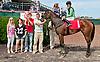 Shake Señora winning at Delaware Park on 8/5/13