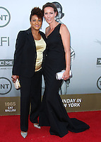 HOLLYWOOD, LOS ANGELES, CA, USA - JUNE 05: Wanda Sykes, Alex Sykes at the 42nd AFI Life Achievement Award Honoring Jane Fonda held at the Dolby Theatre on June 5, 2014 in Hollywood, Los Angeles, California, United States. (Photo by Xavier Collin/Celebrity Monitor)