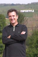 Eric Rominger owner zinnkoepfle in back dom e rominger westhalten alsace france