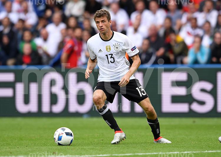 FUSSBALL EURO 2016 GRUPPE C IN PARIS Nordirland - Deutschland     21.06.2016 Thomas Mueller (Deutschland)