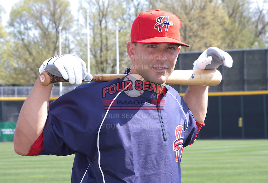 4-6-2010:  Infielder Danny Espinosa #8 of the Harrisburg Senators during practice at Metro Bank Park in Harrisburg, Pa.  Photo By Will Bentzel/Four Seam Images