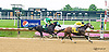 Cat McGinley winning at Delaware Park on 7/21/15