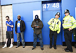 Leicester city fans waiting outside the King Power Stadium during the game between Leicester and Everton. Photo credit should read: Nathan Stirk/Sportimage<br /> <br /> <br /> <br /> <br /> <br /> <br /> <br /> <br /> <br /> <br /> <br /> <br /> <br /> <br /> <br /> <br /> <br /> <br /> <br /> <br /> <br /> <br /> <br /> <br /> <br /> <br /> <br /> <br /> <br /> <br /> <br /> - Newcastle Utd vs Tottenham - St James' Park Stadium - Newcastle Upon Tyne - England - 19th April 2015 - Picture Phil Oldham/Sportimage