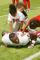 Amon Gordon during the Spring Game on April 26, 2003 at Stanford Stadium.<br />
