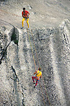Climbers at Cathedral Dome