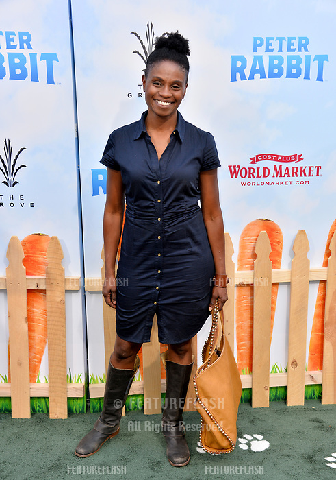 Adina Porter at the world premiere for &quot;Peter Rabbit&quot; at The Grove, Los Angeles, USA 03 Feb. 2018<br /> Picture: Paul Smith/Featureflash/SilverHub 0208 004 5359 sales@silverhubmedia.com