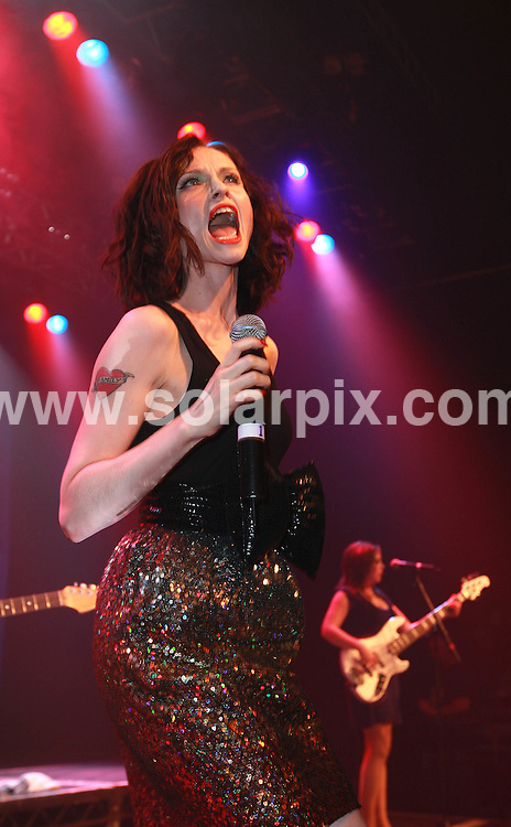 Sophie Ellis Bextor performs for fans at GAY.  The Astoria,.Charing Cross Road, London.