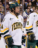 Dean Strong (Vermont - 8) - The Boston College Eagles defeated the University of Vermont Catamounts 4-0 in the Hockey East championship game on Saturday, March 22, 2008, at TD BankNorth Garden in Boston, Massachusetts.