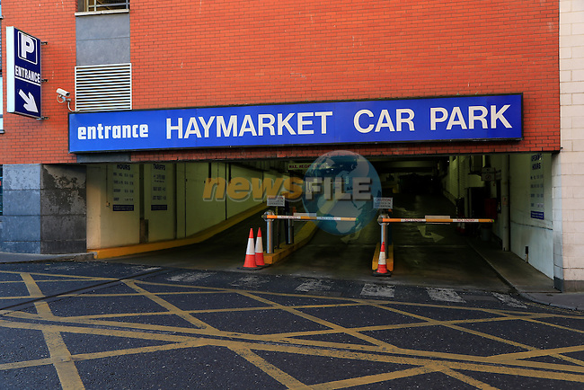 Haymarket car park<br /> Picture: Fran Caffrey www.newsfile.ie
