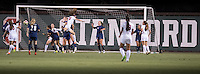 Stanford, CA -- August 11, 2016.  A convincing 3-0 win for Stanford Women against UC Davis in exhibition play.