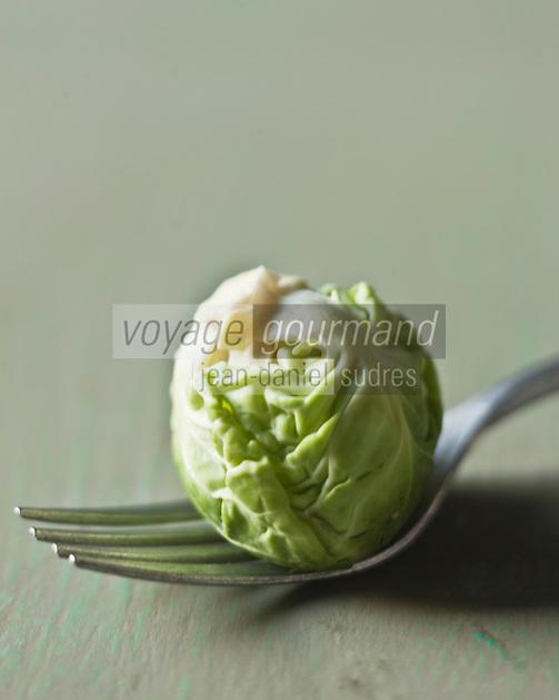 Gastronomie Générale: Chou de Bruxelles - Stylisme : Valérie LHOMME