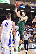 Baltimore, MD - William & Mary Tribe guard Oliver Tot (21) goes up for a lay up against Hofstra Pride during the CAA Basketball Tournament at the Royal Farms Arena in Baltimore, Maryland on March 6, 2016.  (Photo by Philip Peters/Media Images International)