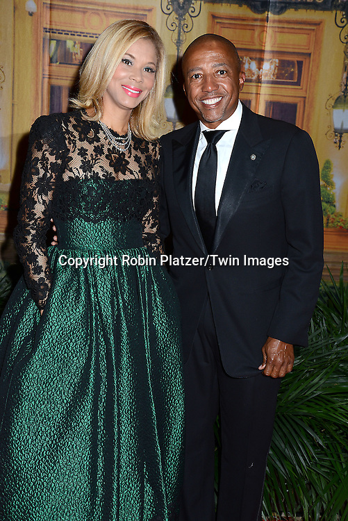 Erika and Kevin Lyle attends the New Yorkers for Children's Fall Gala on September 16, 2015 at Cipriani 42nd Street in New York City, New York, USA.<br /> <br /> photo by Robin Platzer/Twin Images<br />  <br /> phone number 212-935-0770