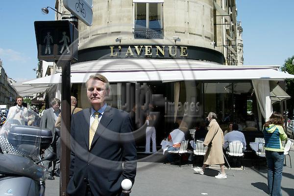 PARIS - FRANCE - 09 JUNE 2005 --Sven E. SVEDMAN, Norwegian Ambassador.-- PHOTO: ERIK LUNTANG / EUP-IMAGES..