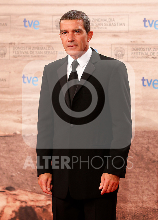 Spanish actor Antonio Banderas during the 59th San Sebastian Donostia International Film Festival - Zinemaldia.September 24,2011.(ALTERPHOTOS/ALFAQUI/Acero)