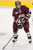 Pat Gannon - The Boston University Terriers defeated the Boston College Eagles 2-1 in overtime in the March 18, 2006 Hockey East Final at the TD Banknorth Garden in Boston, MA.