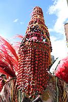 BOGOTA -COLOMBIA. 05-06-2014. Desfile Inaugural del XIV Festival Iberoamericano  de Teatro de Bogotá. Cientos de Artistas nacionales y extranjeros  se dieron cita en el centro de la ciudad .  / Inaugural Parade XIV Iberoamerican Theater Festival of Bogotá. in the capital. Hundreds of domestic and foreign artists gathered in the city center.   Photo: VizzorImage/ Felipe Caicedo / Staff