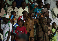 Fans. Spain defeated the U.S. Under-17 Men National Team  2-1 at Sani Abacha Stadium in Kano, Nigeria on October 26, 2009.