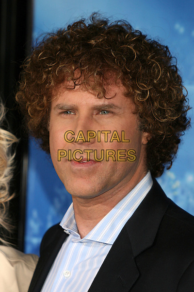 "WILL FERRELL.Attending ""Blades of Glory"" Los Angeles Premiere at Grauman's Chinese Theatre, Hollywood, California.28 March 2007..portrait headshot long curly hair.CAP/ADM/BP.©Byron Purvis/AdMedia/Capital Pictures."