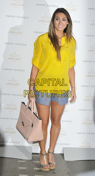 LONDON, ENGLAND - APRIL 15: Luisa Zissman attends the Baileys Feaster Egg Hunt event, Harvey Nichols London, Knightsbridge, on Tuesday April 15, 2014 in London, England, UK.<br /> CAP/CAN<br /> &copy;Can Nguyen/Capital Pictures
