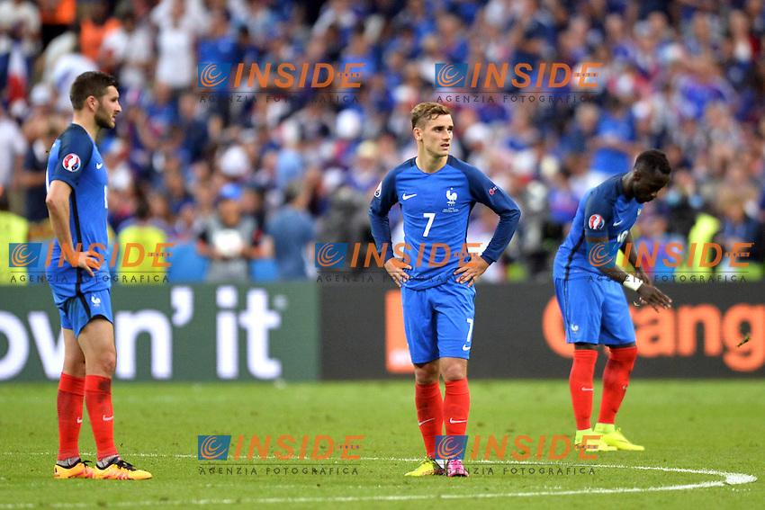 Delusione Antoine Griezmann ( France ) <br /> Paris 10-07-2016 Stade de France Football Euro2016 Portugal - France / Portogallo - Francia Finale/Finals<br /> Foto Anthony BIBARD/ Panoramic / Insidefoto