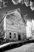 Well's Hotel at Garnet Ghost Town near Missoula Montana is one of Mantana's best preserved ghost towns.  Garnet was a thriving gold mining town about a hundred years ago.  Today there are approximately 30 buildings which look today much like they did in 1895.