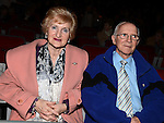 Joe and Mary Durnin pictured at the Showband show in the TLT. Photo:Colin Bell/pressphotos.ie