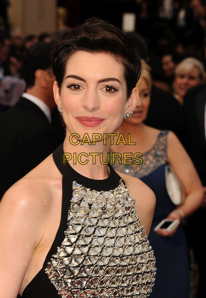 HOLLYWOOD, CA- MARCH 02: Actress Anne Hathaway attends the 86th Annual Academy Awards held at Hollywood &amp; Highland Center on March 2, 2014 in Hollywood, California.<br /> CAP/ROT/TM<br /> &copy;Tony Michaels/Roth Stock/Capital Pictures