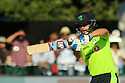 Ireland's James Shannon batting during a T20 match between Ireland and India at the Malahide cricket club in Dublin on June 27, 2018. Photo/Paul McErlane