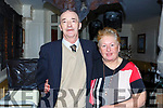 Denis and Shiels Fitzgerald from Ballymac celebrating his 65th birthday in the Brogue Inn on Saturday night.