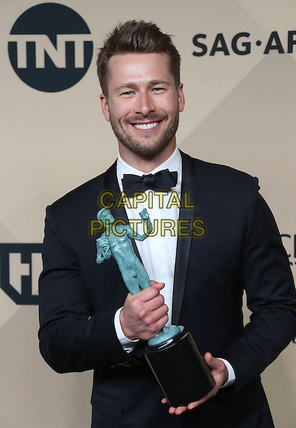 29 January 2017 - Los Angeles, California - Glen Powell. 23rd Annual Screen Actors Guild Awards held at The Shrine Expo Hall. <br /> CAP/ADM/FS<br /> &copy;FS/ADM/Capital Pictures