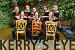 Surprise Hen Party for Monika Ramenda, Abbey Park Tralee, celebrating in traditional dress with Friends before going off to Cork on Saturday, Pictured front Malgorzata Tomczak, Monika Ramenda, Joanna Kelly, back Marta Nowak, Magdalena Brzyskiewicz, Olga Taranta Sova, Anna Podruczna, Monika Mikolajczuk