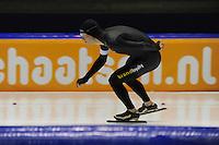 SCHAATSEN: HEERENVEEN: 04-10-2014, IJsstadion Thialf, Trainingswedstrijd, Sven Kramer, ©foto Martin de Jong